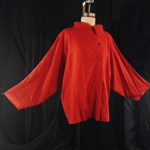 Vintage Italian red toby Calla